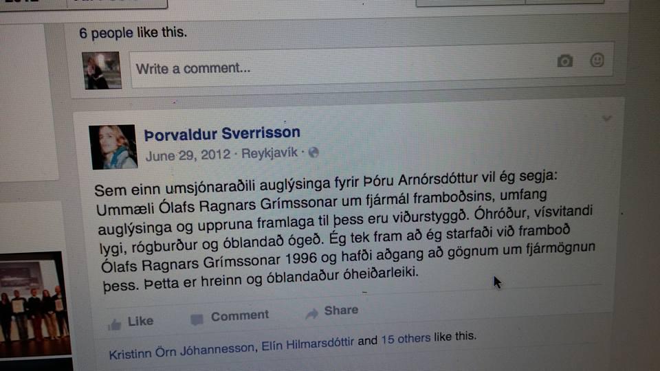 þorvaldur sverrisson 2