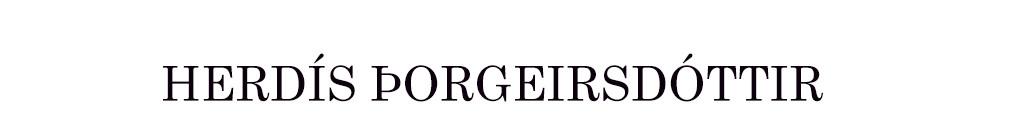 Herdís Kjerulf Þorgeirsdóttir