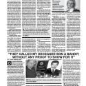 Viðtal í Georgian Journal vegna álits um æruvernd látinna