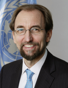Portrait of HRH Prince Zeid, HC Designate (and passport photos)