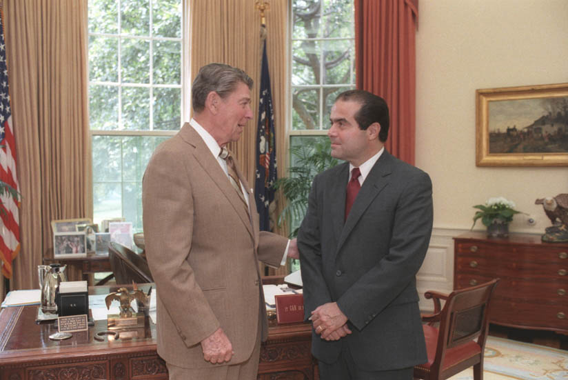 reagan og scalia
