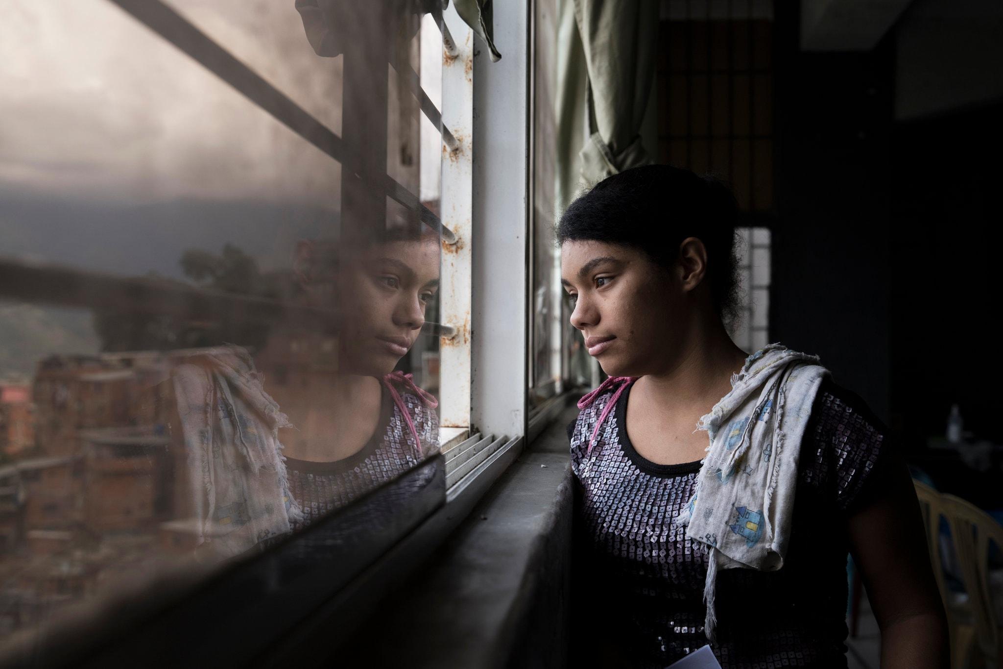 Venezuela á barmi glötunar