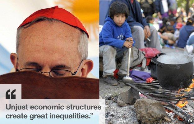 páfinn unjust economic structures