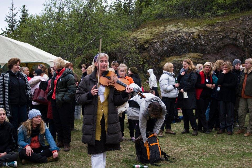 Helga Þórarinsdóttir í Hannesarholti