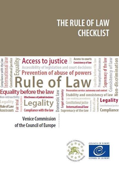 rule of law checklist