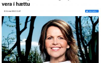 Sagði lýðræðið í hættu (2012)